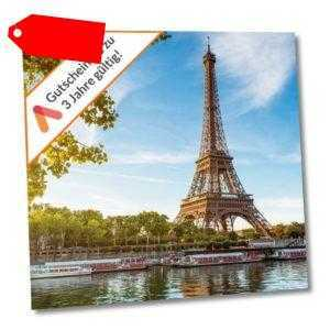 Kurzurlaub Wochenende Paris 3 Tage für 2 Personen Hotel Olympic Hotelgutschein