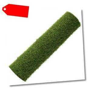 Kunstrasen 100 x 200 cm - 12 mm Rasenteppich mit Drainage - UV-stabilisiert