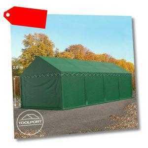 Lagerzelt 4x8m Weidezelt Zelthalle Unterstand PVC 500g/m² Zelt wasserdicht