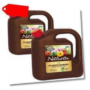 2 x 2 Liter Celaflor Naturen Bio Pflanzennahrung Pflanzendünger