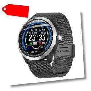 Smartwatch N58 Herzfrequenz Puls Uhr Blutdruck Fitness Sport Tracker iOS Android