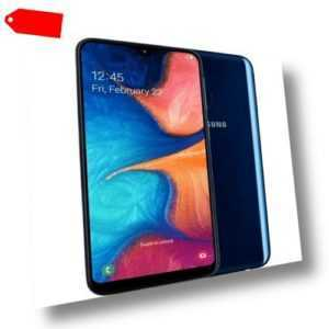 SAMSUNG A20e 5,8 Zoll 32 GB 13 MP Duale Kamera 3 GB RAM NFC blau...