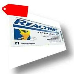 REACTINE TABLETTEN 21 St PZN:02152240