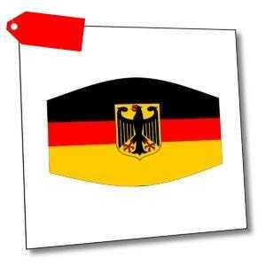 "Behelfsmaske ""Deutschland"" Adler, Bundesrepublik, Corona, BRD, Germany, Wappen"