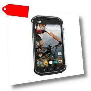 CAT S40 DualSim schwarz silber 16GB LTE Android Outdoor Smartphone...