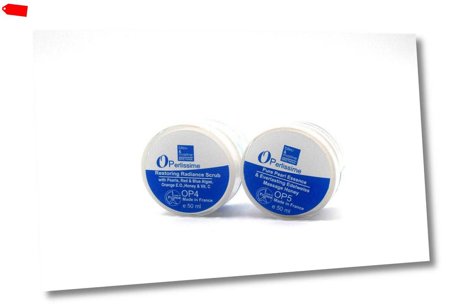 Operlissime Radiance Scrub OP4 50ml + Perlenessenz Massage Honig OP5 50ml