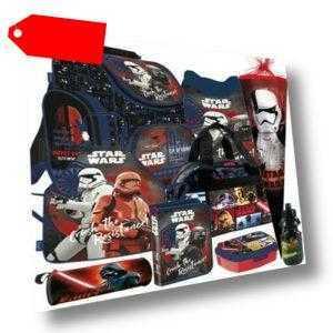 Star Wars Schulranzen Tornister Ranzen Rucksack Set Schultüte Sporttasche (9)