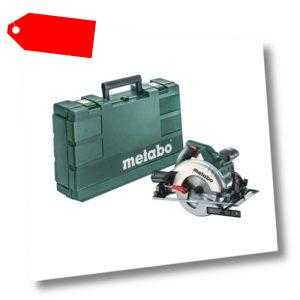 Metabo KS 55 Handkreissäge 1200W 55 mm inkl. 160mm Sägeblatt 18 Zähne im Koffer