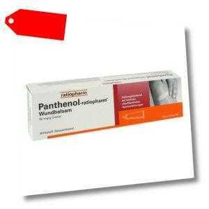 Panthenol-ratiopharm Wundbalsam 100g PZN 08700984