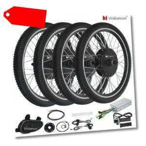 26''/28'' Elektro-Fahrrad Kit Elektrofahrrad Ebike Umbausatz Hinterrad/Vorderrad