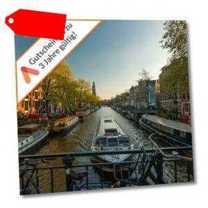 Städtereise Amsterdam 3* Best Western Hotel Gutschein 2 Personen 3 bis 6 Tage Fr