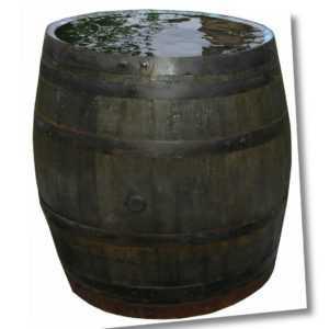 Holzfaß Regentonne Eichenfaß Whiskyfaß gebraucht dicht 200,400,500,600,700 Liter