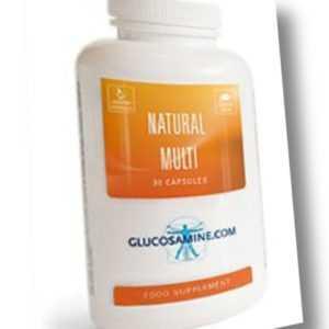 Natural Multi - 90 Kapseln. Natürliche Vitamine + Mineralien in Spitzenqualität!