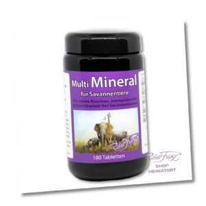 Multi Mineral für Savannentiere, von Robert Franz. PREISWERTES PRODUKT!