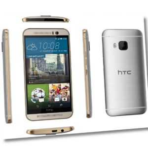 """HTC One M9 silber gold 32GB LTE Android Smartphone ohne Simlock 5"""" Diplay 20 MPX"""