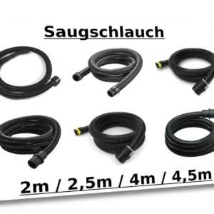 Kärcher Saugschlauchsystem, elektrisch leitend 2-4,5m (€/m: 500-19,75;41-24,25)