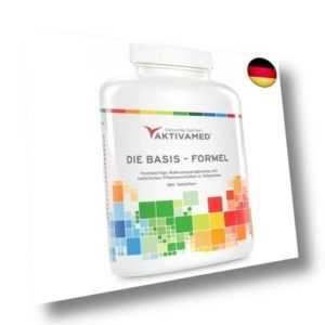 Basis-Formel Aktivamed Premium Multivitamin + Multimineral mit (180 Tabletten)