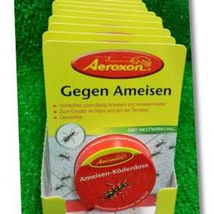 (1,98€)/Dose) 10 x Aeroxon AMEISEN-KÖDERDOSE KÖDER- DOSE Fraßköder Versand 0€