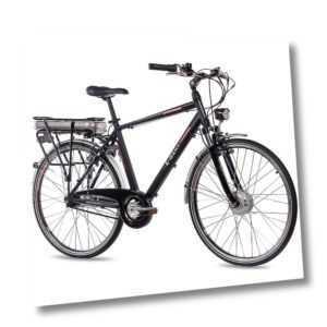 28 Zoll City Bike E-Bike PEDELEC CHRISSON E-GENT 7G NEXUS schwarz gebraucht