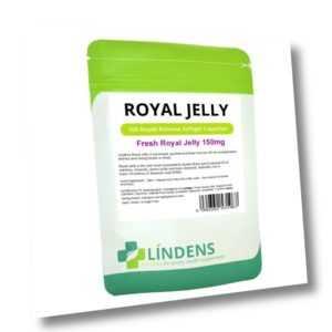 Lindens Gelée Royale Extrakt 150mg 100 Kapseln Bienen Königliches Biene Gelee