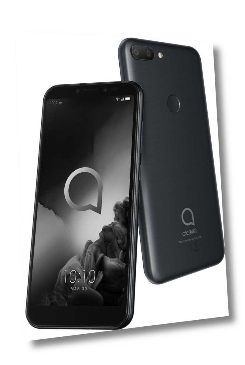 ALCATEL 1S 5024D 2019 DualSim schwarz 32GB LTE Android Smartphone...