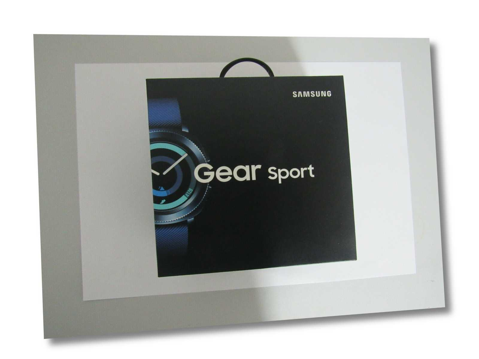 Samsung Gear Sport SM-R600 Smartwatch Fitnesstracker GPS MP3 Blau Blue wie NEU