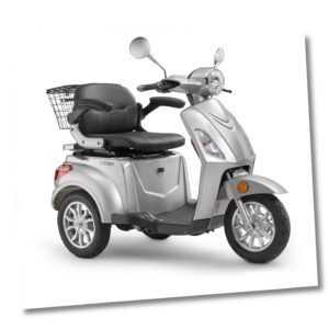 Elektroroller LuXXon E3800 - Senioren E-Dreirad 800 Watt, max 20 km/h