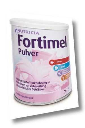 Fortimel Pulver Erdbeere 12x335g PZN 09628088 (32,31 EUR/kg)
