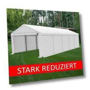 3x6m - 6x12m Lagerzelt Zeltgarage Weideunterstand Garage Auto Lagerhalle SMART
