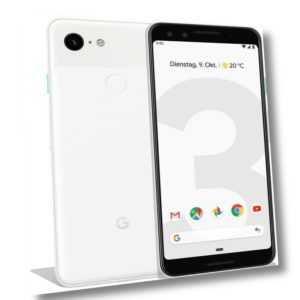 Google Pixel 3 64GB Clearly White, TOP Zustand, Display Burn-In