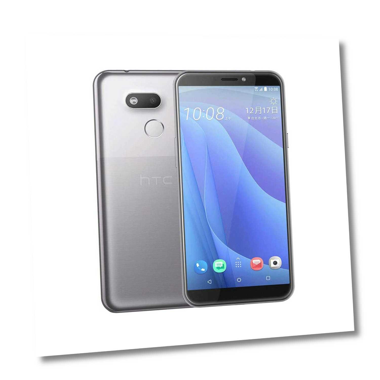 "Handy Smartphone HTC Desire 12s Silber 3 GB 32 GB Dual SIM LTE 5,7"" 1440 x 720"