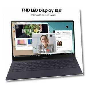Samsung Galaxy Book S 33,78 cm 13,3 Zoll Notebook 8GB RAM 256GB SSD Win 10