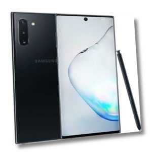 Samsung Galaxy Note 10 Duos N970F aura black - TOP ZUSTAND -...