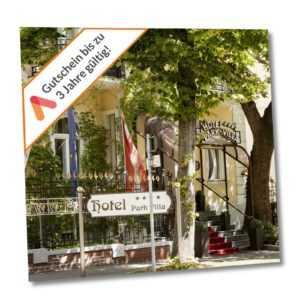 Städtereise Wien Villa Hotel Gutschein für 2 Personen mit Frühstück 3 bis 5 Tage