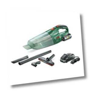 Bosch Akku-Handstaubsauger PAS 18 LI Set inkl. Akku 2,5 Ah, Zubehör, Ladegerät