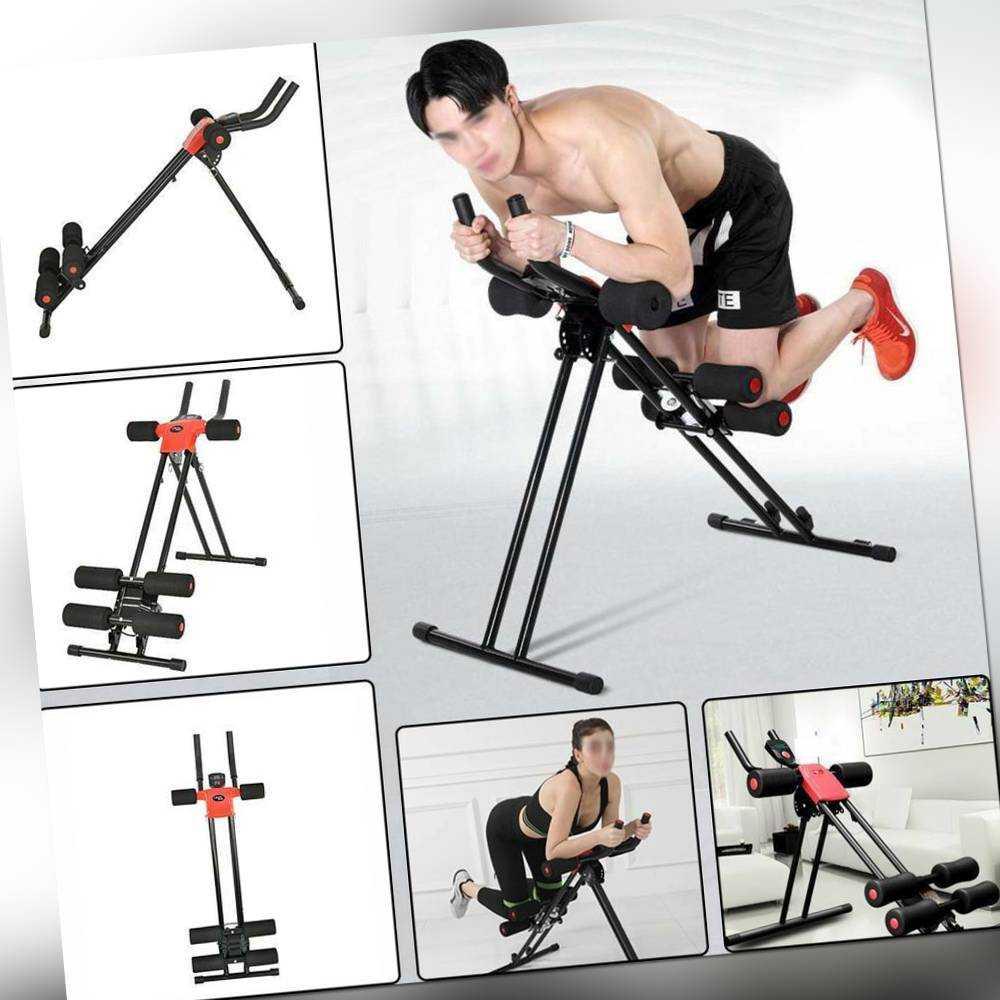 Bauch Muskel ABS Trainer Rücken Trainings Fitness Gerät Sport Shape klappbar