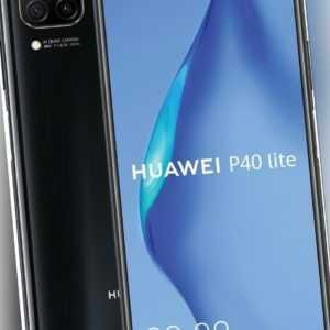 """Huawei P40 lite DualSim midnight schwarz 128GB LTE Android Smartphone 6,4"""" 48 MP"""