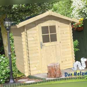 Gartenhaus Richard Blockhaus + Fussboden 2x2 m Gerätehaus Holzhaus 28 mm Holz