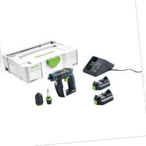 Festool Akku-Bohrschrauber CXS Li 2,6-Plus im Systainer SYS 1 TL - 564531