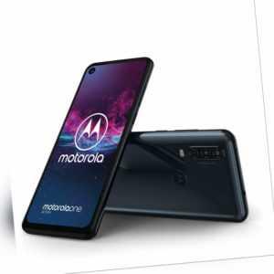 Motorola One Action - 128GB - Dual SIM Denim Blue (Unlocked)...