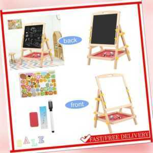 Kindertafel Magnettafel Standtafel Schreibtafel Whiteboard Mit Großes Ablagefach