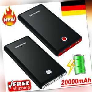 Poweradd Pilot X7 20000mAh Powerbank Externes USB Battey Ladegerät DHL Versand