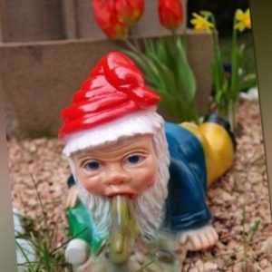 Gartenzwerg Brandy Andy aus bruchfestem PVC Zwerg - Made in Germany Figur