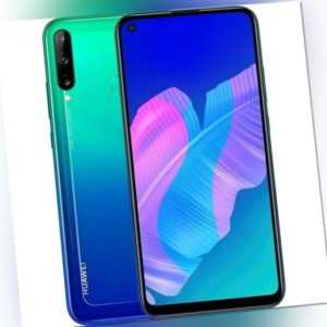 Huawei P40 Lite E 4GB RAM 64GB Blue Android Smartphone Handy ohne ...