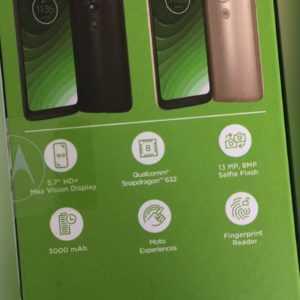 "Motorola Moto G7 Dual Sim s 2+ 32Gb 5.7"" 13 Megapixel Octa Core"