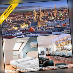 Städtereise Wien 3 Tage 2 Personen a&o Hotel Hotelgutschein Kurzreise Österreich