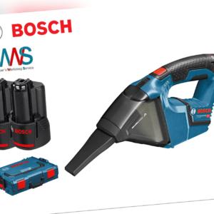 BOSCH Akku-Staubsauger GAS 12V Professional + 2x Akkus 2,5Ah + L-BOXX NEU!