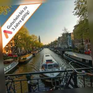 Kurzreise Amsterdam 3 bis 6 Tage 3* Best Western Hotel Gutschein für 2 Personen