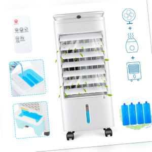 4in1 mobile Klimaanlage Klimagerät Luftkühler Fernbedienung Ventilator Ionisator