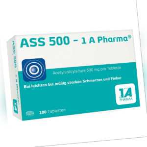 ASS 500-1A Pharma 100stk PZN 08612435